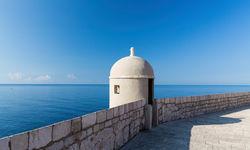 Lookout tower in Dubrovnik