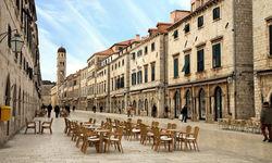 Old city street in Croatia