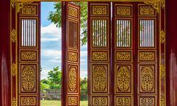 Detailed Red doors