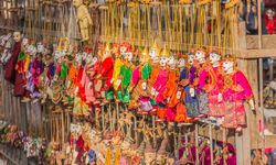 Traditional puppets in Bagan
