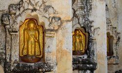 Buddha niches detail
