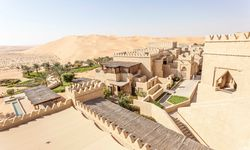 A Resort Overlooking the Desert