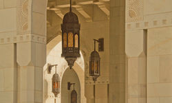 Lantern in the Grand Mosque
