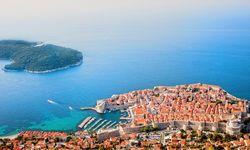 Ariel view of Dubrovnik