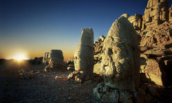 Sunset over Turkish Monuments