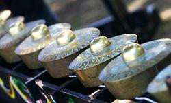 Kulintang traditional gongs
