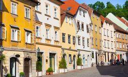 Ljubljana old houses