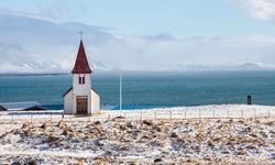 Hellnar church on Snaefellsnes Peninsula