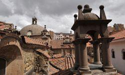 Rooftops in La Paz