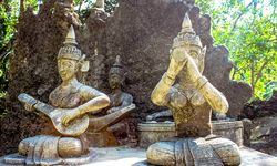 Magic Garden Statues - Koh Samui