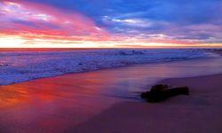Bright sunset in Costa Rica