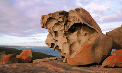 Famous rocks on the Island
