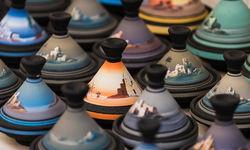 Essaouira pots detail