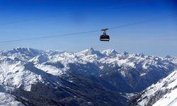 A gondola in St Anton, Austria