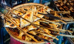 Grilled Fish in Cambodia
