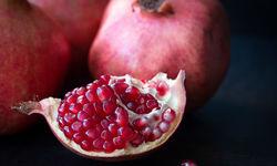 Pomegranate close up
