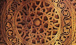 Wooden door art