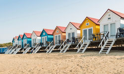 Houses in coastal Netherlands