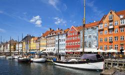 Boats in the Harbour, Copenhagen