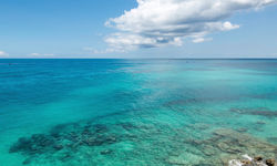 Bermuda blue sea