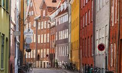 old street house in Copenhagen
