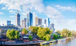 Yarra River flowing through Melbourne