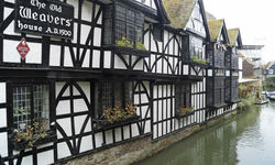 The Old Weavers pub, Canterbury