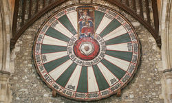 An image of King Arthur's round table