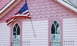 Pink house, Martha's Vineyard