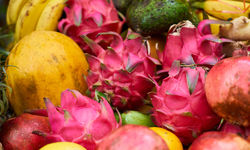Kuala Lumpur tropical fruits