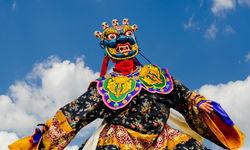 Dancer in mask