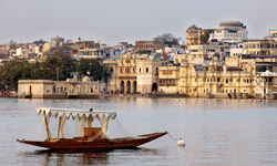 Boat in Rajasthan