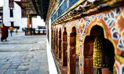 Punakha Dzong artwork