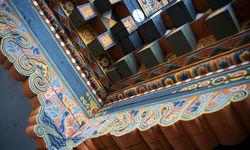 Dzong interior detail