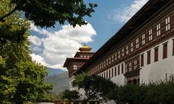 Thimphu Dzong and scenery