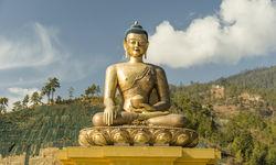 Buddhist statue in Thimphu