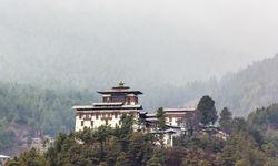 Trongsa Dzong in Landscape