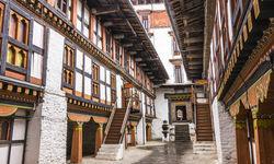 Interior of Jakar Dzong