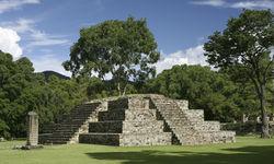 Temple Architecture Copan, Honduras