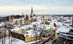 Tallinn in Winter, Estonia