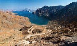 A Rocky Fjord in Oman