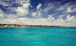 Caribbean sea in Antigua