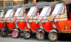 Tuktuks in Jakarta