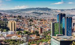 Bogota Skyline cityscape