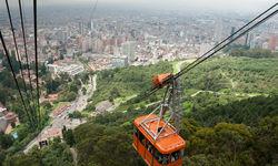 Cable car in Bogota