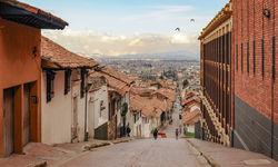 Old town La Candelaria in Bogota