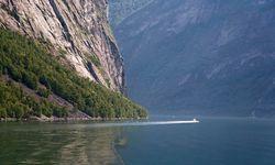 Boat in the Fjords