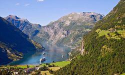 Geirangerfjord landscape