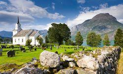 Naeroyfjord Stave church