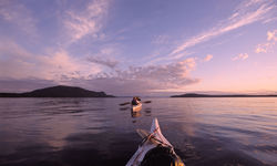 Kayaking around San Juan Islands